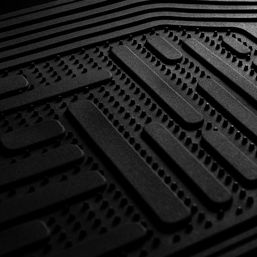 Detail of floor mats