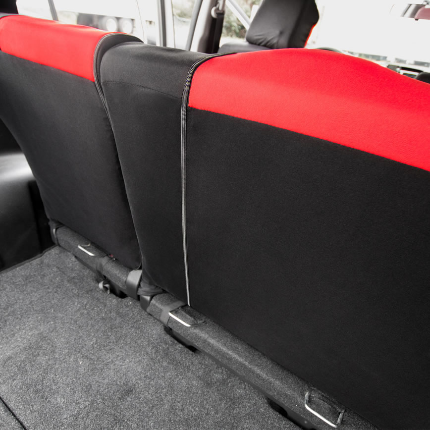 how seat cover look in rear seat