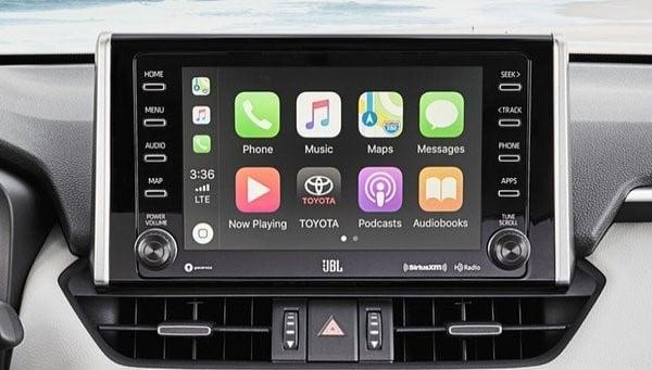 Toyota Rav4 2019 apple configuration