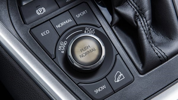 Toyota RAV4 2019 Button