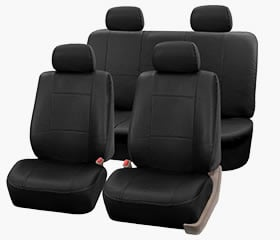 Premium PU Leather Full Set Seat Covers