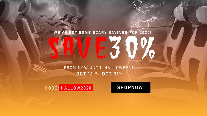 Halloween get 30% off