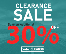 40% OFF for clearance item