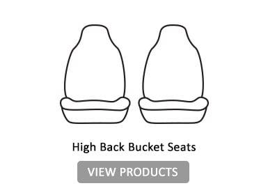 high back bucket seats