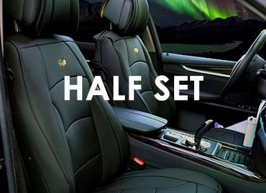half set seat cover