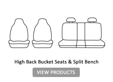 High Back Bucket seats & split Bench