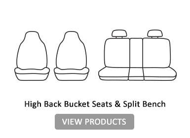 High Back Bucket seats & split Bench