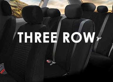 Three row seat cover
