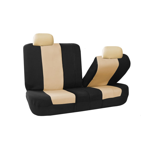 Multifunctional Flat Cloth Seat Covers - Rear