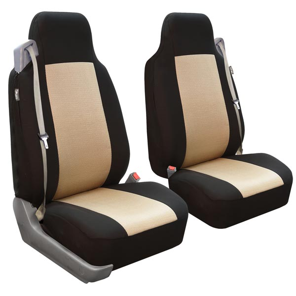 Built-In Seatbelt Classic Cloth Seat Covers