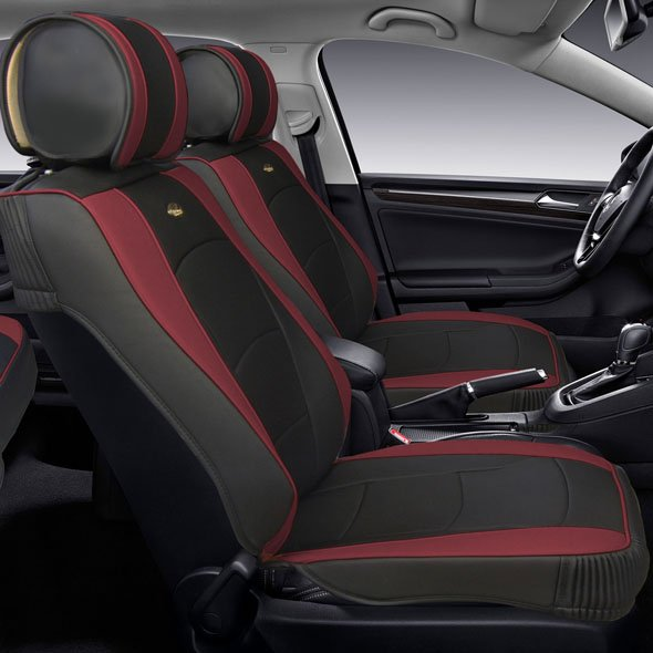 Ultra Comfort Leatherette Seat Cushions - Front