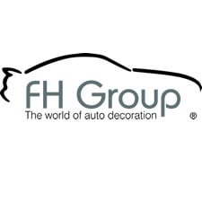 FH Group FB102114 Full Set Classic Cloth Car Seat Covers w or Van E-Z Travel Car Storage Bag Truck Gray//Black- Fit Most Car SUV