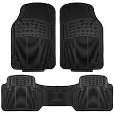 High Quality Liners Trimmable Vinyl Car Floor Mats- Full Set