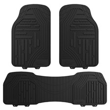 Class-Rubber Liners Trimmable Car Floor Mats- Full Set