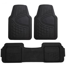 Trimmable Liners Heavy Duty Tall Channel Floor Mats -Full Set