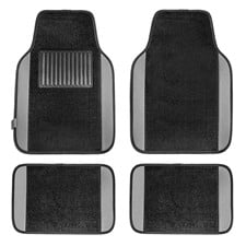 Carpet Liners Car Floor Mats With Colored Trim -Full Set