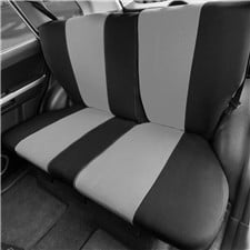 Full Coverage Flat Cloth Seat Covers -Rear