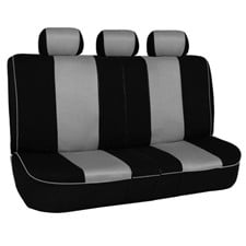 Edgy Piping Seat Covers -Rear