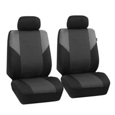 Timeless Cross Weave Seat Covers -Front Set