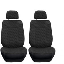 Prestige79 Diamond Stitch Neosupreme Car Seat Covers -Front Set