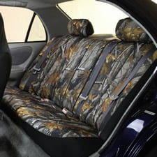 Hunting Camouflage Seat Covers -Rear