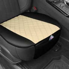 Faux Leather and NeoSupreme Seat Cushion Pad -Front Set