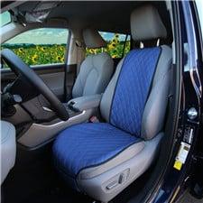 Faux Leather Seat Protectors -Front Set