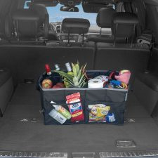 Double Pocket Trunk Organizer With Mesh Pockets
