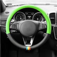 Full Spectrum Genuine Leather Steering Wheel Cover