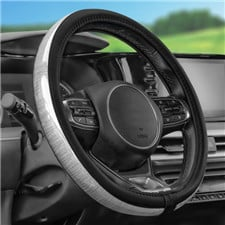 Galaxy13 Metall-Striped Steering Wheel Cover