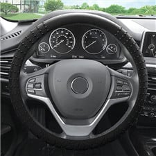 Nibbed Silicone Steering Wheel Cover with Massaging Grip