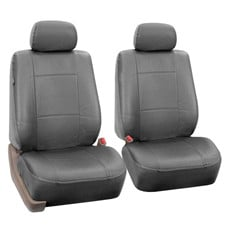 Premium PU Leather Seat Covers -Front Set
