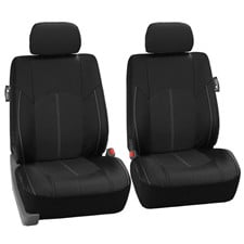 Highest Grade Faux Leather Seat Covers -Front Set