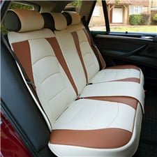 Ultra Comfort Leatherette Bench Seat Cushions -Rear