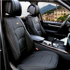 Ultra Comfort Leatherette Seat Cushions -Front Set