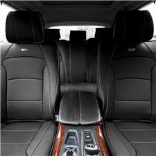Ultra Comfort Highest Grade Faux Leather Seat Cushions -Full Set