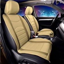 NeoBlend Leatherette Seat Cushions -Front Set