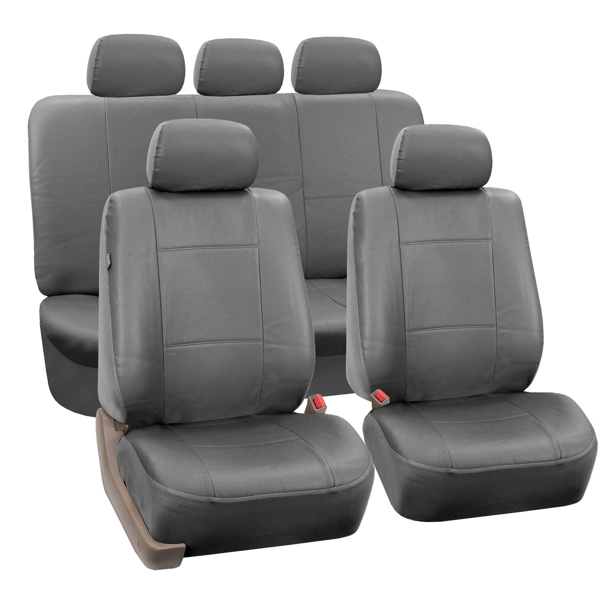 PU002115 gray seat cover 01