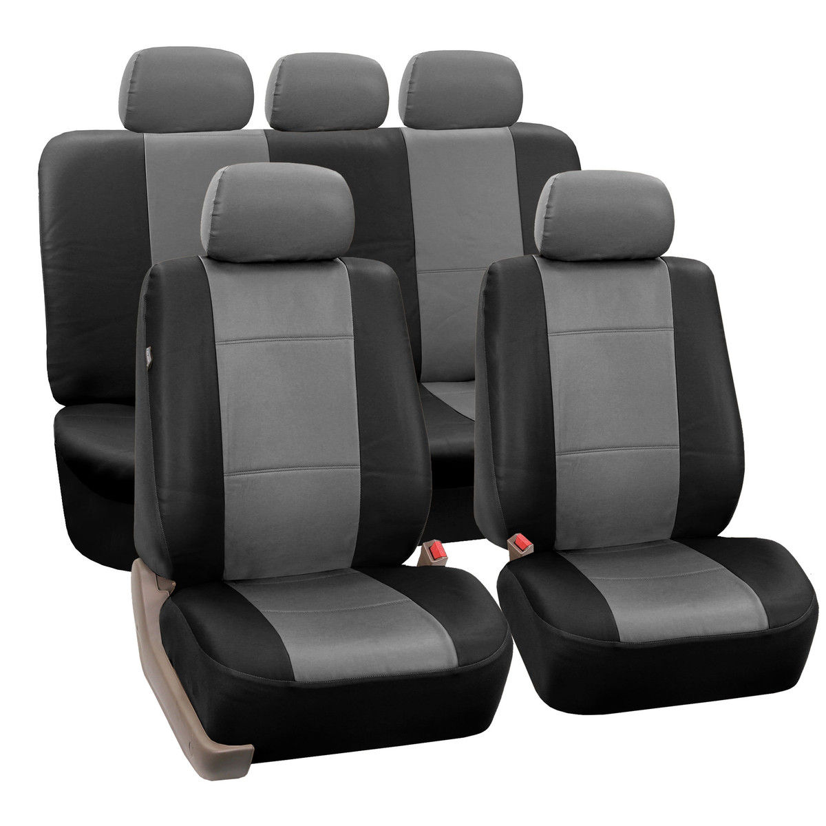 pu002115 seat cover full set