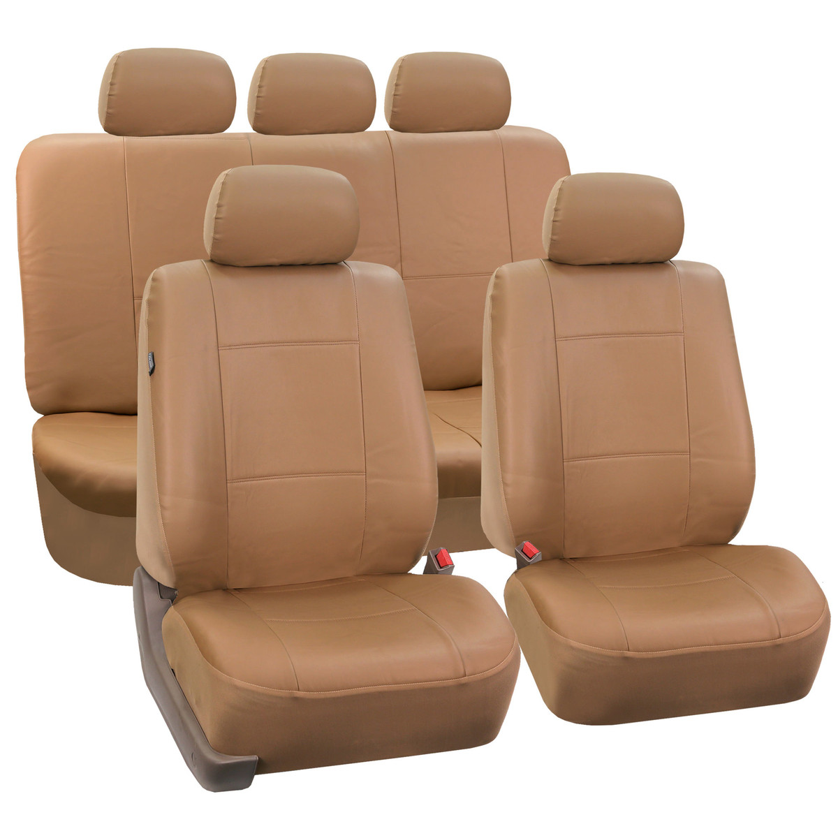 Seat covers PU002115 tan 01