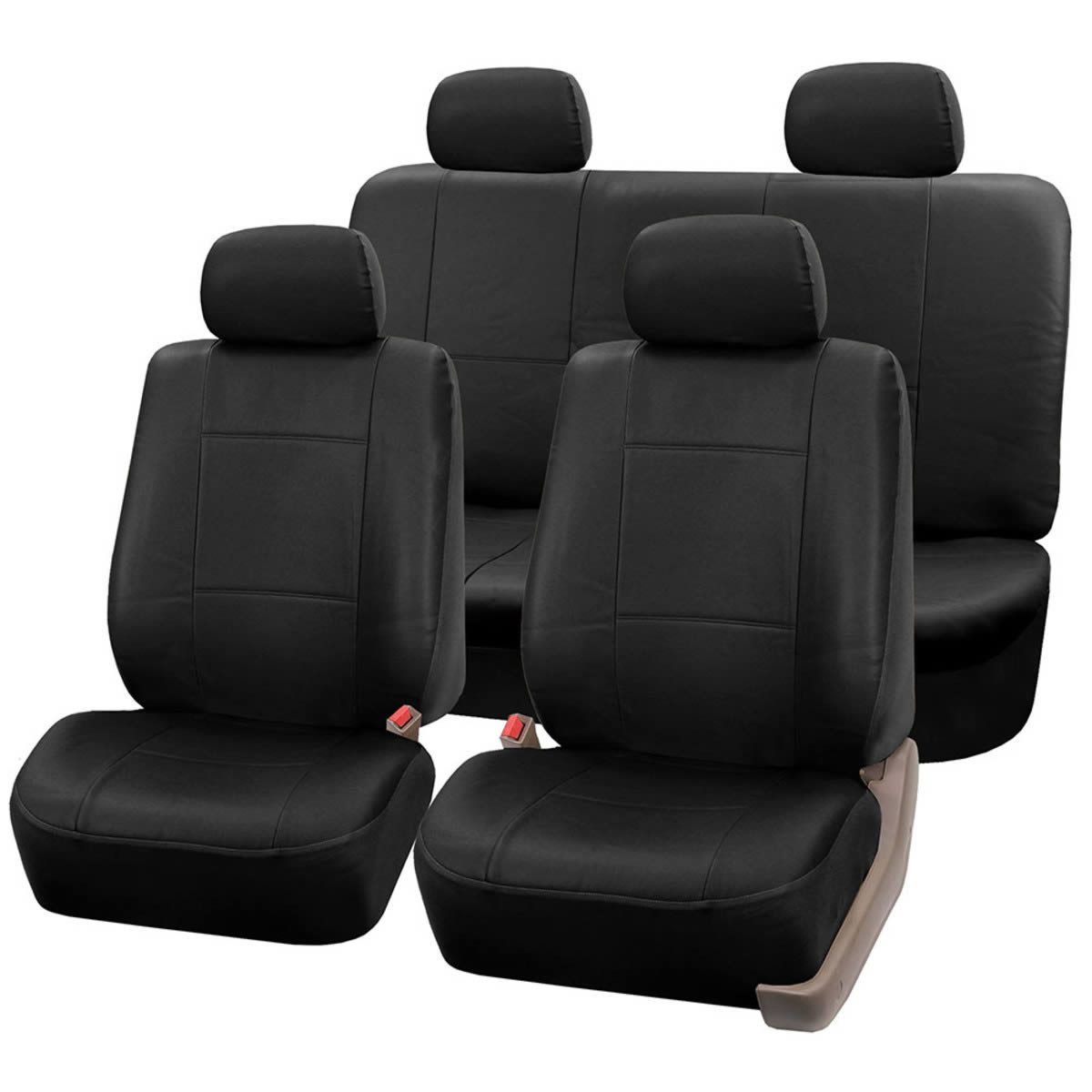 Sensational Premium Pu Leather Seat Covers Full Set Pdpeps Interior Chair Design Pdpepsorg
