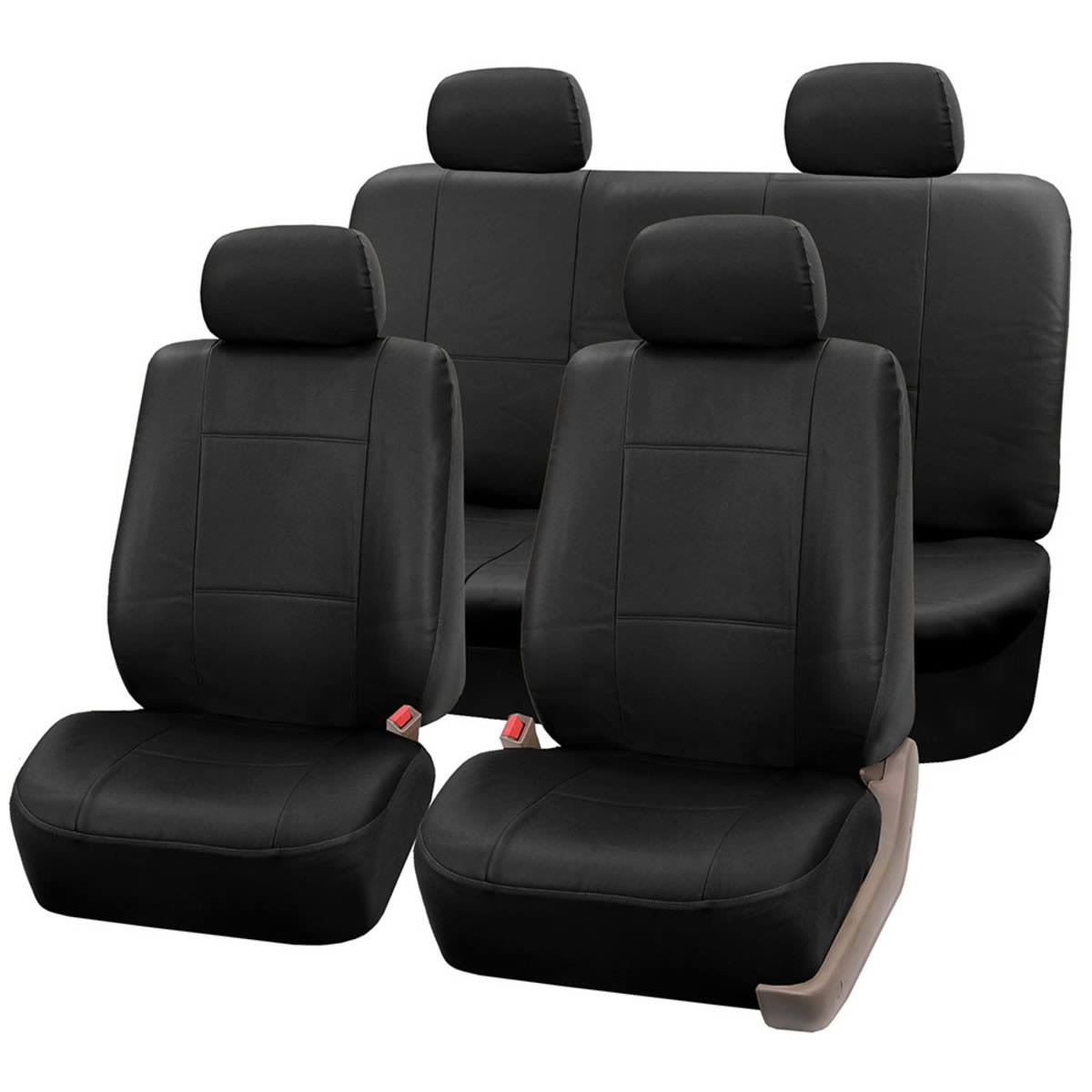 car seat covers PU002114 BLACK 01