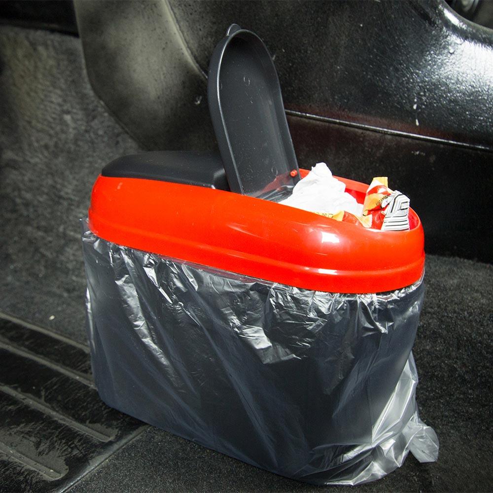Auto Trash Can Plastic material