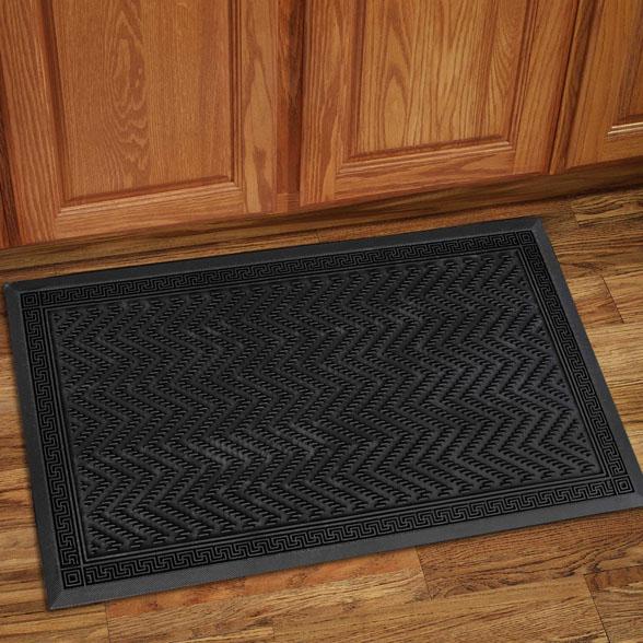 Clean Scrape Rubber Utility Doormat material