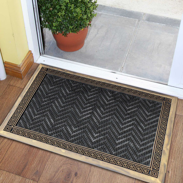 Deep Cleaning Rubber Utility Doormat material