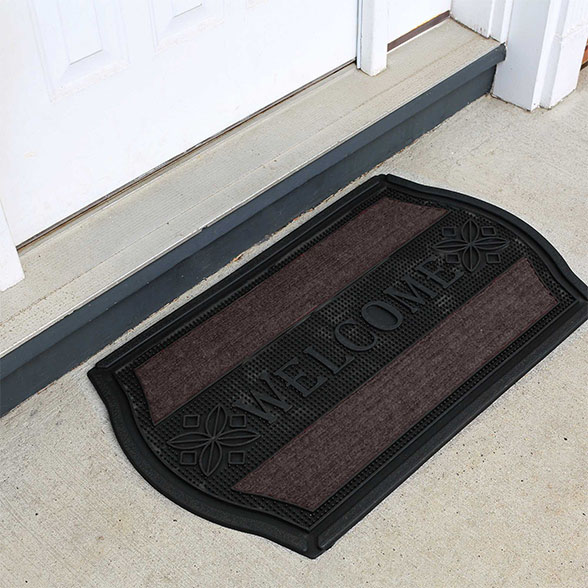 Coir Welcome Rubber Utility Doormat material