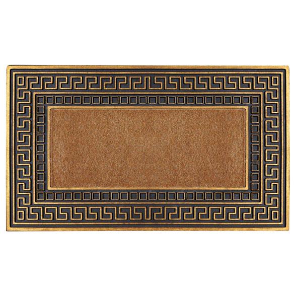 Golden Trim Astroturf Scraper Rubber Utility Doormat Fh