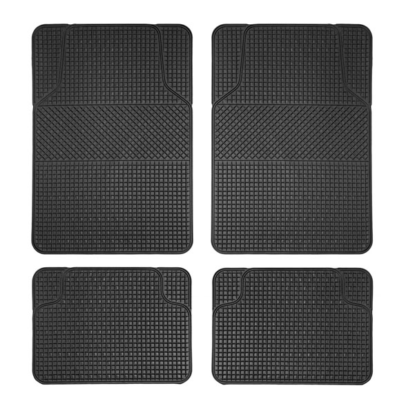 Anti-Slip All Weather Floor Mats - Checker Style