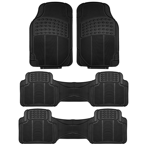 F11306 3ROW black floormat 01