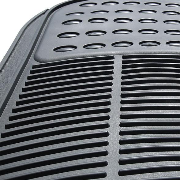 High Quality Vinyl Floor Mats - Rear Set material